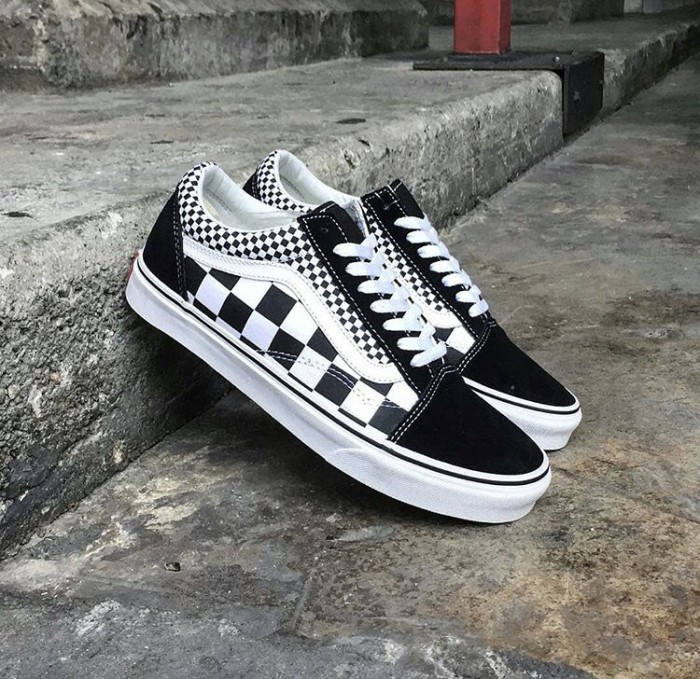 d5ac0a22028f Jual Vans Original Classic Old Skool Mix Checker Black White BNIB ...