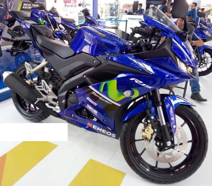 Jual Kredit Motor Yamaha R15 ALL NEW GP MOVISTAR 2018 - DKI Jakarta -  Mengkudu Motor | Tokopedia