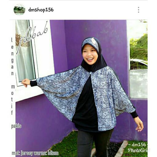harga Jilbab lengan batik Tokopedia.com