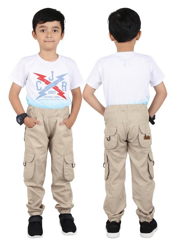 harga Cnjbga celana panjang pdl katun joger anak laki-laki/cowok jaman now Tokopedia.com