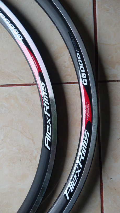 harga Rims alexrims 700 g6000 velg 700c fixie road bike Tokopedia.com
