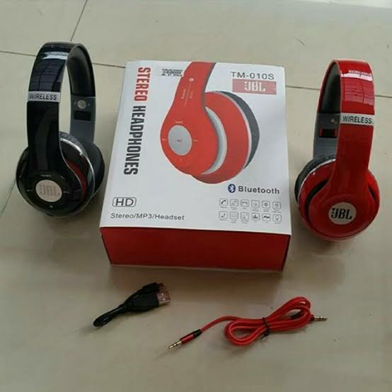harga Earphone/headset/headphone/hendsfree/henset bando jbl bluetooth/tm010s Tokopedia.com