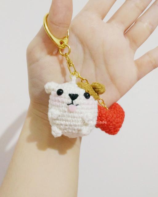 Crochet Sheep Keychain Anigurumi Free Patterns   640x513