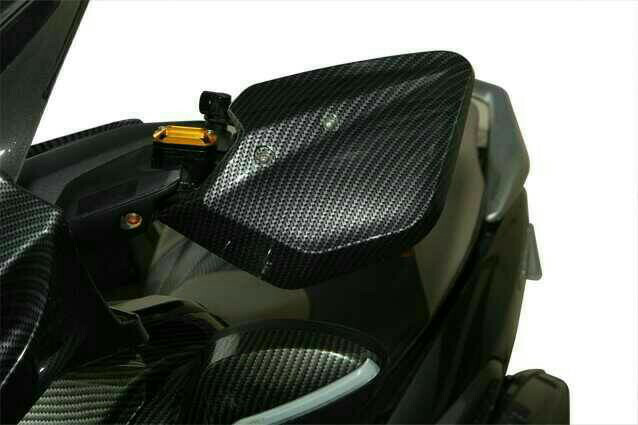 NMAX KNUCKLE COVER HANDGUARD PELINDUNG STANG CARBON