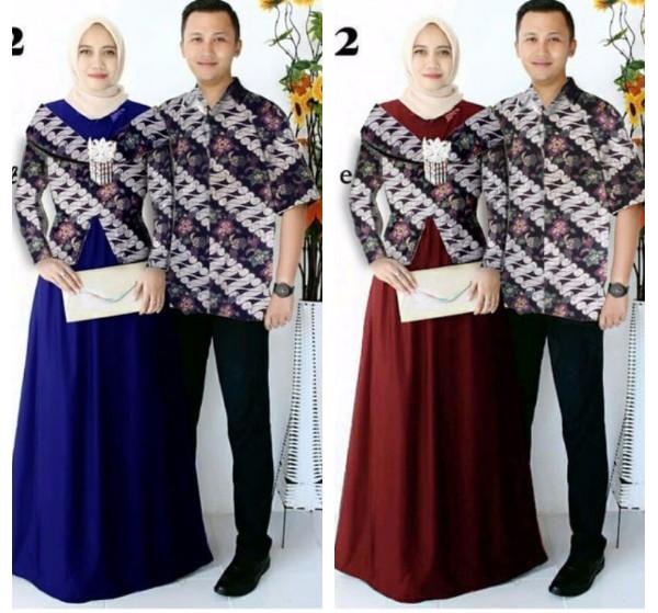 Katalog Batik Couple Longdress Baju Hargano.com
