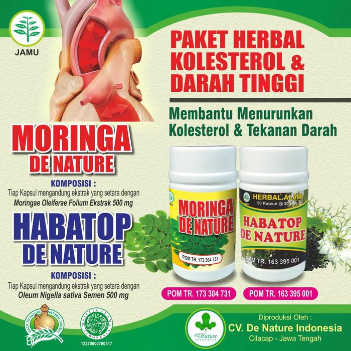 Foto Produk Obat Kolesterol Darah Tinggi dari Herbal Denature Centre
