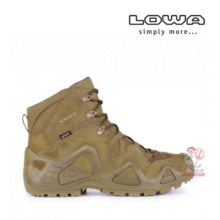 harga Lowa zephyr gtx mid coyote op tactical boots (gore-tex) Tokopedia.com