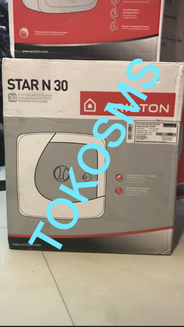 Jual Water Heater Ariston Star 30 Cek Harga Di Pemanas Air Listrik Modena Es V Liter N Dan N30 Promo Model Tokopedia