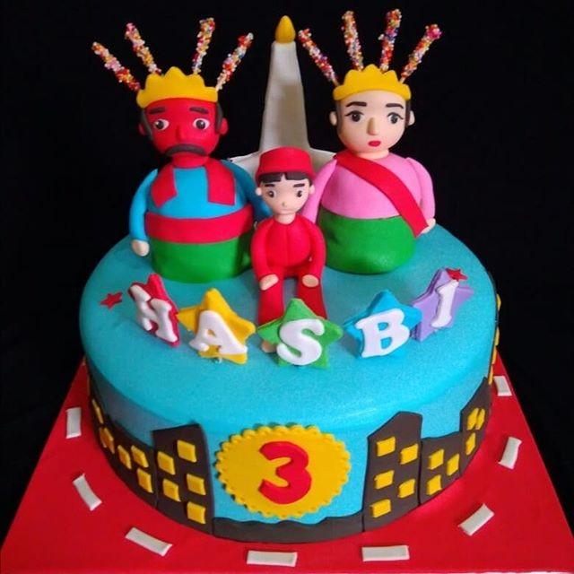 Jual Kue Ulang Tahun Ondel Ondel 22cm Triple Coklat Raline Cake Jakarta Barat Raline Cake Tokopedia