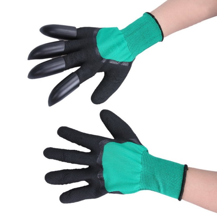 harga Garden glove gardening gloves digging planting latex abs claw *st04 Tokopedia.com
