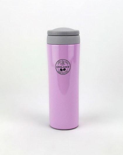 lock&lock bottle mini grip vacuum mug 200ml lhc821 violet