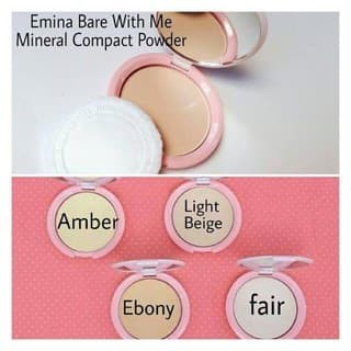 Emina - Bare With Me Compact Powder