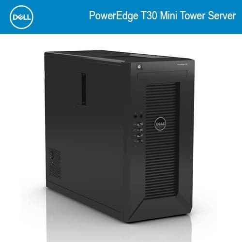 harga Server dell poweredge server t30 / server unbk Tokopedia.com