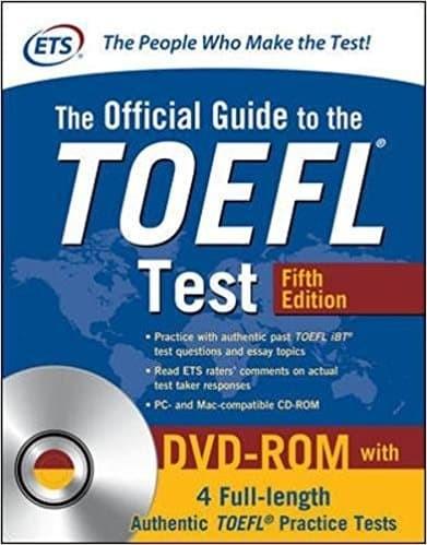 harga The official guide to the toefl test fifth edition (original) Tokopedia.com
