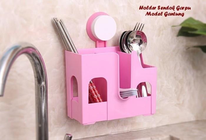 harga Holder sendok garpu model gantung (pasangnya tanpa paku, tanpa bor) Tokopedia.com