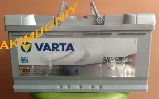 harga Aki varta g14 silver dynamic agm l5 595901 cca 900 12v 95ah yuasa gs Tokopedia.com