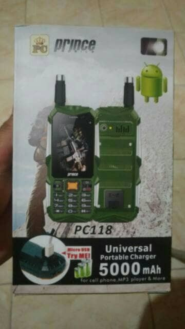 HP PRINCE PC118 / PRINCE FX PC 118 / PRINCE ANDROID / POWE Limited