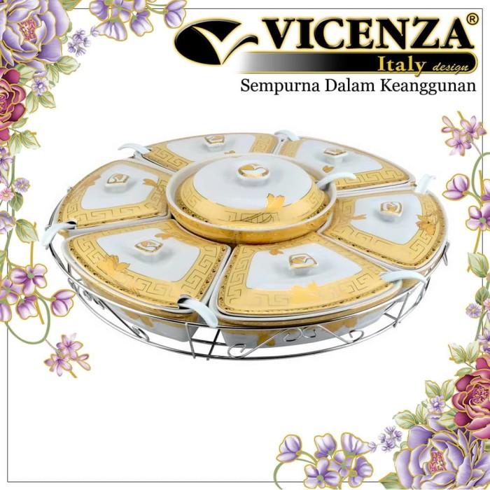 harga Vicenza prasmanan besar b412 motif lily Tokopedia.com