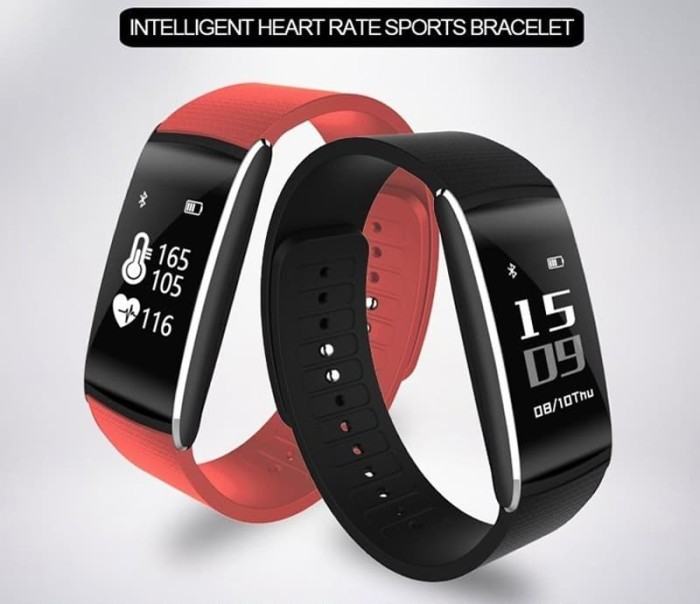 harga Smart bracelet z6 bluetooth & heart rate monitor - merah Tokopedia.com