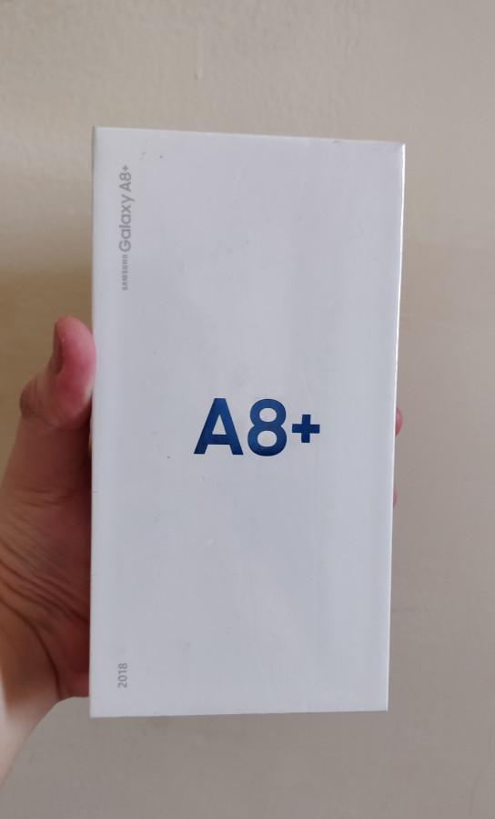 BNIB Samsung Galaxy A8 plus ( + ) 2018 Garansi Samsung Indonesia