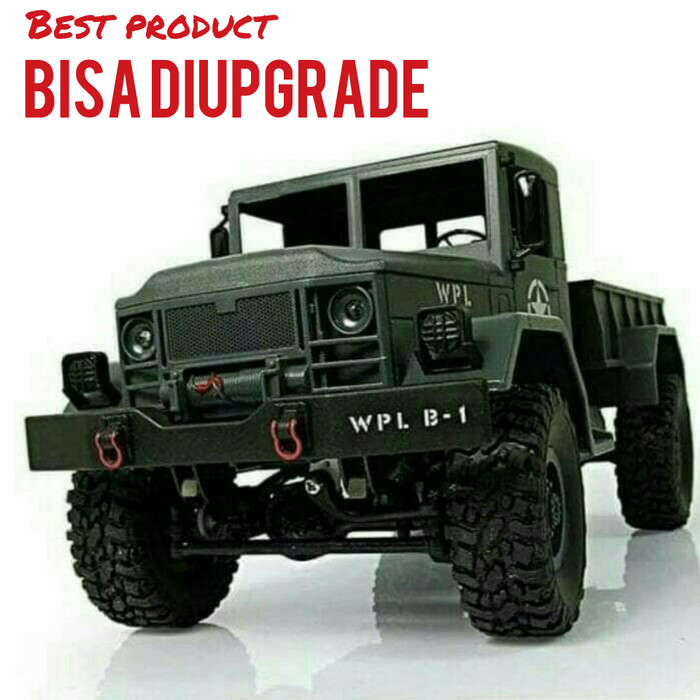 NEW WPL B-1 Servo 1//16 RC Crawler Military Truck Car Part