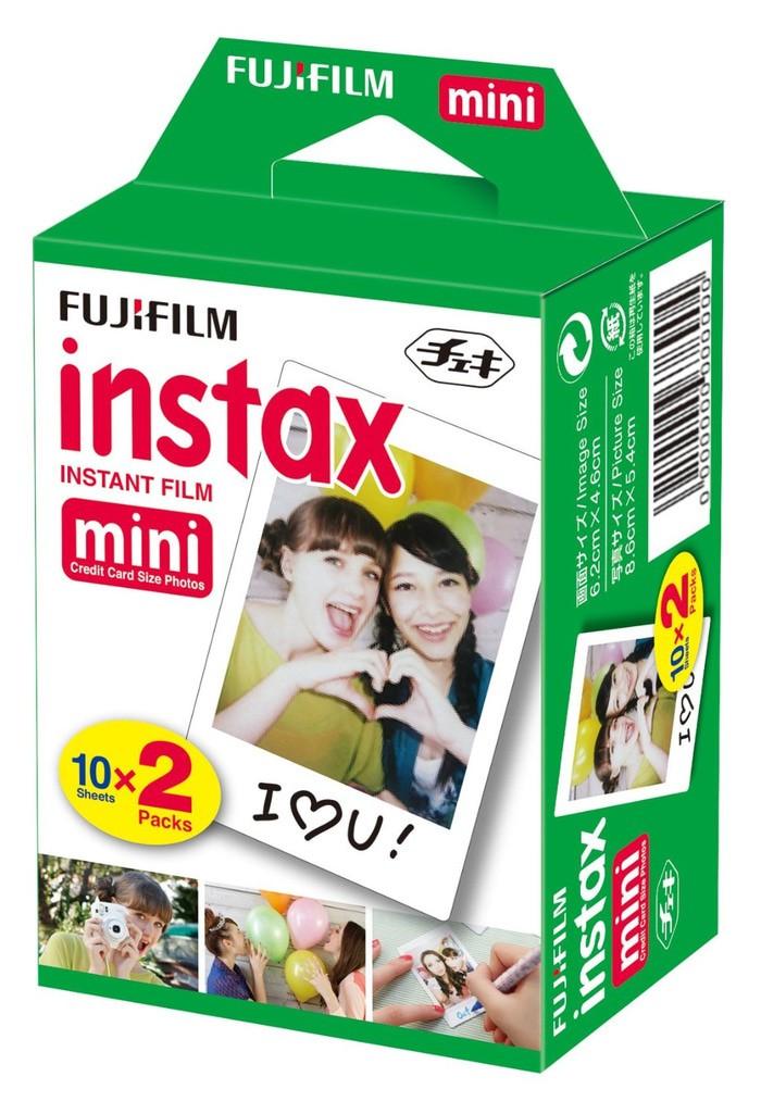harga Refill kertas mini polosan isi 20 fujifilm instax kamera polaroid Tokopedia.com