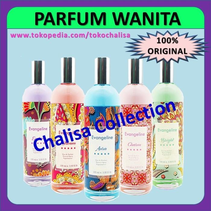 Parfum Wanita original cologne wanita Evangeline Batik 100ml Eau De !!