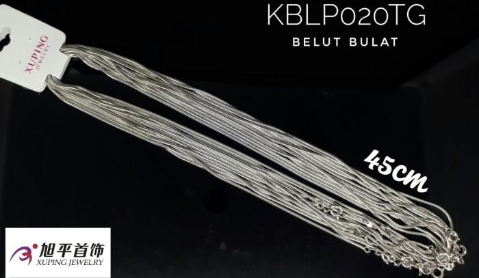 harga Kalung putih belut bulat tg by xuping jewelry Tokopedia.com
