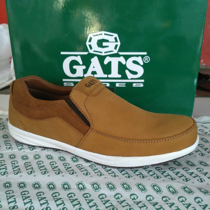 harga Sepatu kulit casual gats kn 0001 tan. original Tokopedia.com