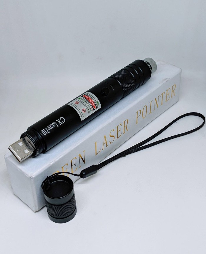 harga Green laser pointer / laser pointer hijau 710 rechargeable usb Tokopedia.com