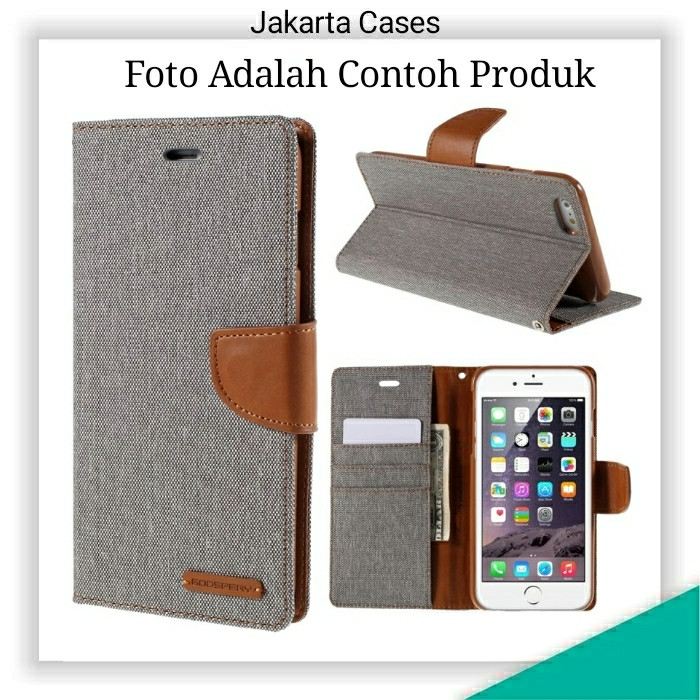 harga Sony xperia m2 / jc flip wallet canvas case cover Tokopedia.com