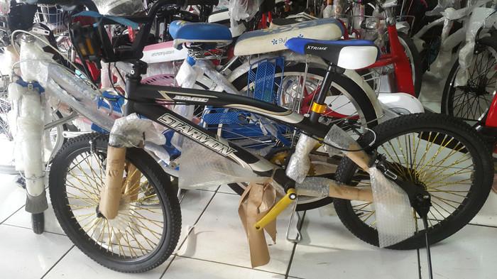 harga Promo sepeda bmx 20 starmon ruji emas besar Tokopedia.com