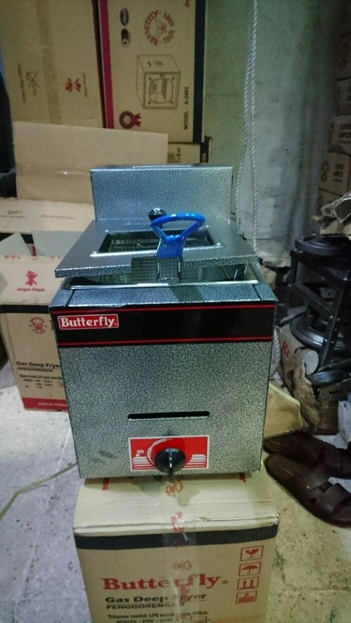 harga Kompor goreng kentang dan chicken 6lt /deep fryer gas butterfly 6liter Tokopedia.com