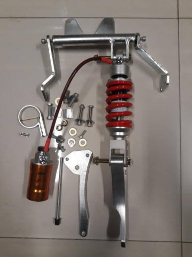 harga Paket monoshock aerox 155vva pnp dengan shock answer / scarlet tabung Tokopedia.com