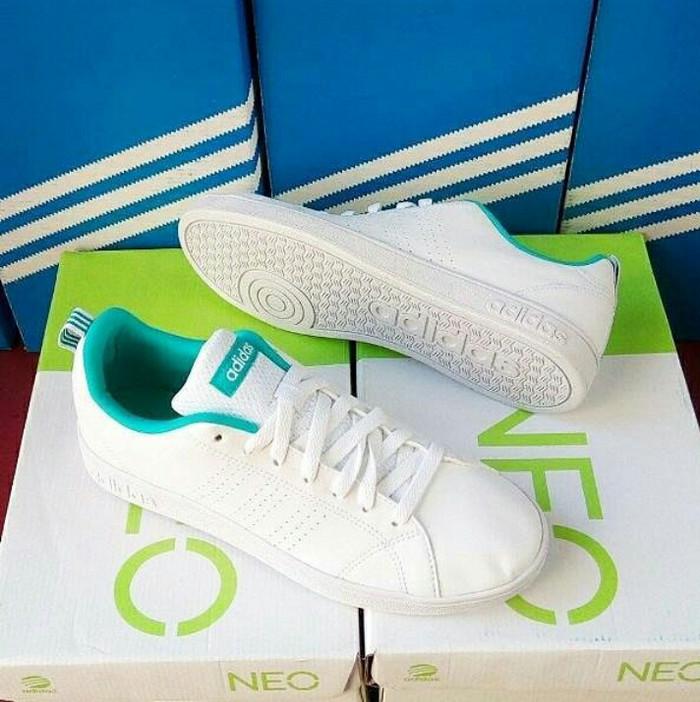 Adidas Neo Advantage Clean White Mint Tosca original BNIB (art:AW4746)