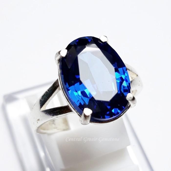 harga Batu cincin king sapphire ring perak istimewa Tokopedia.com
