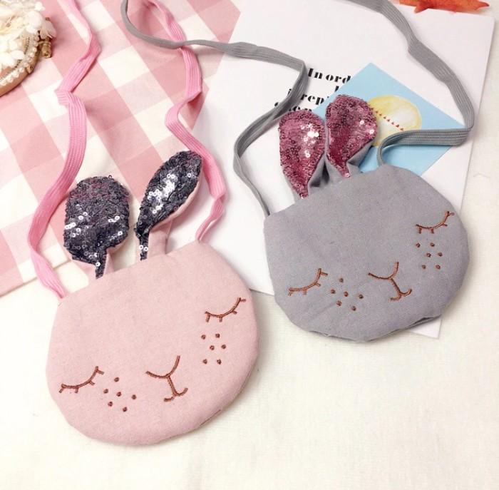 Tas selempang bunny rabbit kelinci anak bayi slempang genit sling bag
