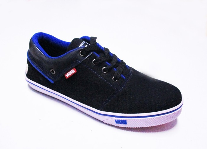 harga Sepatu vans california hitam list biru sol karet vans size 36 - 40  Tokopedia. 6c12546806