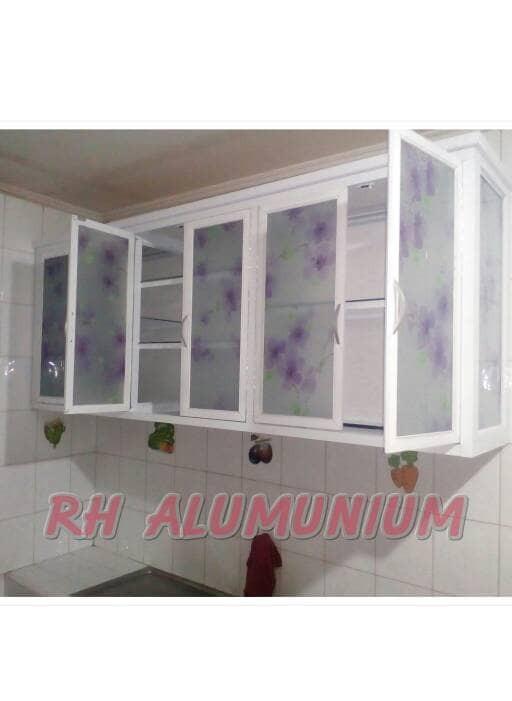 Jual Kitchen Set Rak Gantung Aluminium Rh Aluminium Tokopedia