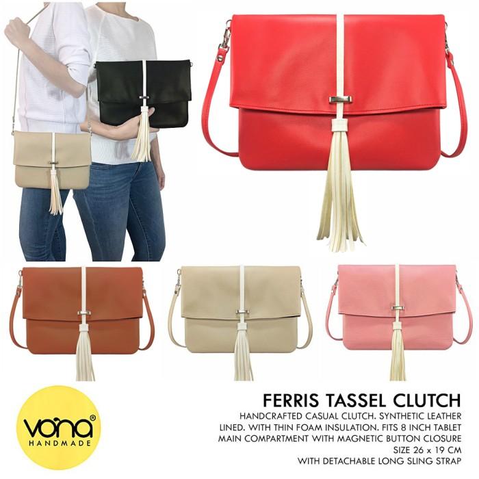 Kain tahan air layar besar handphone tas clutch tas (Sepeda). Source · VONA