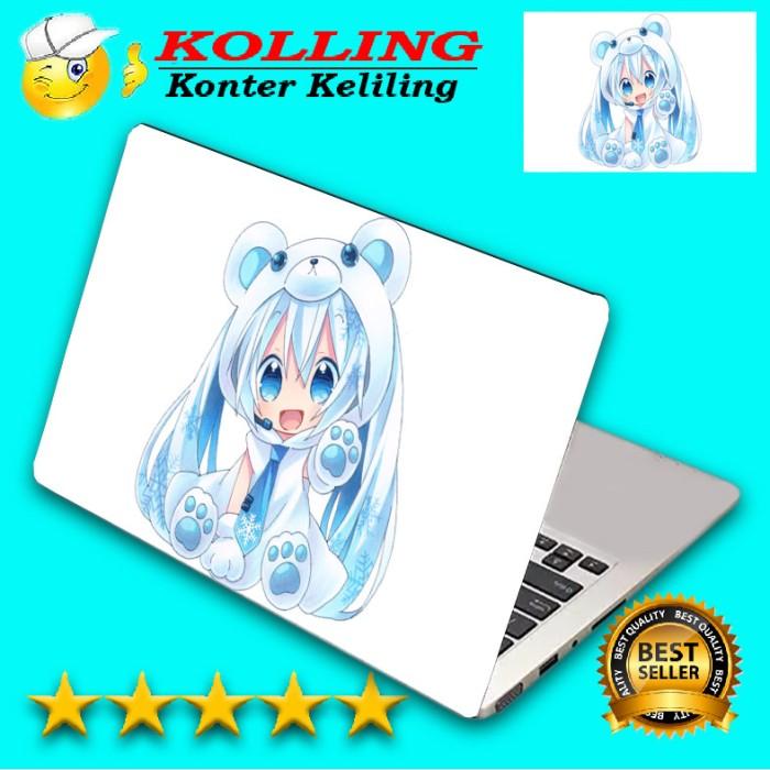 Garskin laptop anime chibi skin laptop stiker laptop