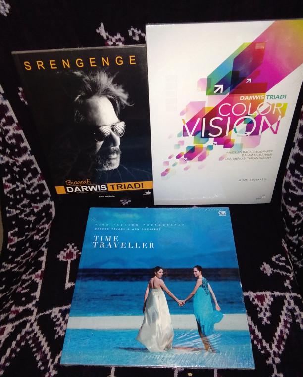 harga 3 buku darwis triadi - fotografi - fotografer - color Tokopedia.com