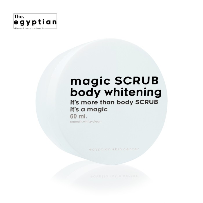 The egyptian scrub body whitening  best seller !!