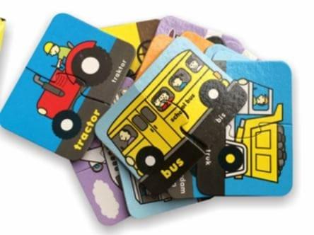 harga Mainan edukasi anak puzzle puzzlo transportation untuk balita paud Tokopedia.com