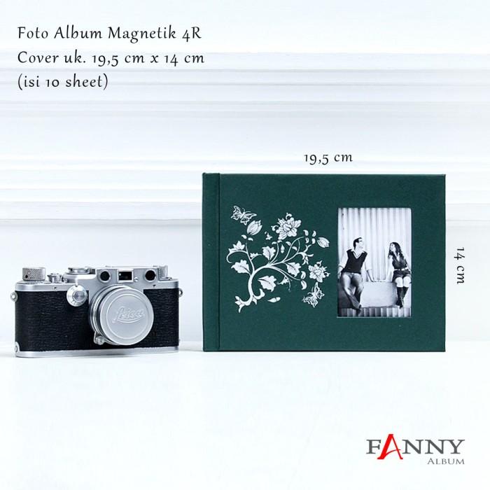 harga Foto album magnetik 4r isi 10 sheet (4r_01 hijau tua) Tokopedia.com