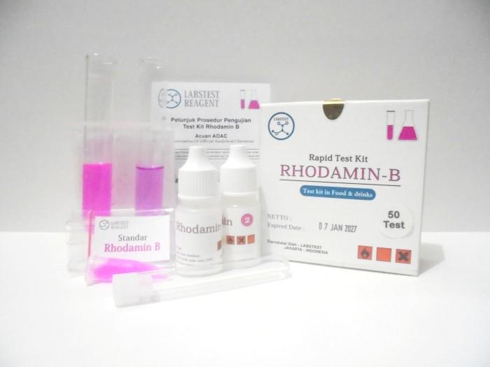 harga Alat uji pewarna rhodamin b, test kit rhodamine b rapid test Tokopedia.com