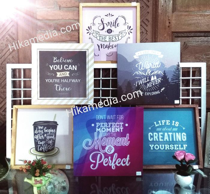 Jual Frame Quote Bingkai Motivasi Untuk Dinding Rumah A 81 Source · Quotes hiasan dinding walldecor