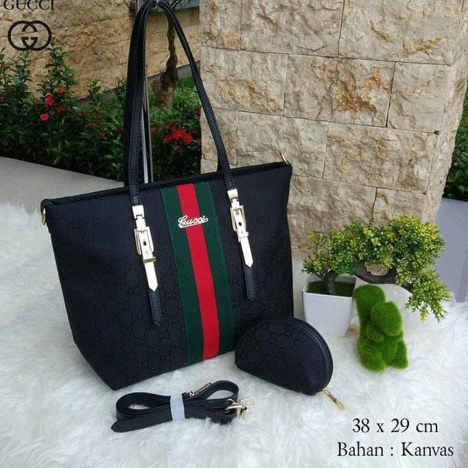 Jual Cool22-00 Supplier Tas Wanita Kantor Santai Terbaru Hits Gucci ... 392f702936