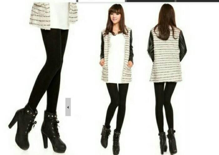 Jual Legging Terbaru Celana Stocking Hangat Untuk Winter Musim Dingin Jakarta Barat Fashion 86 Tokopedia