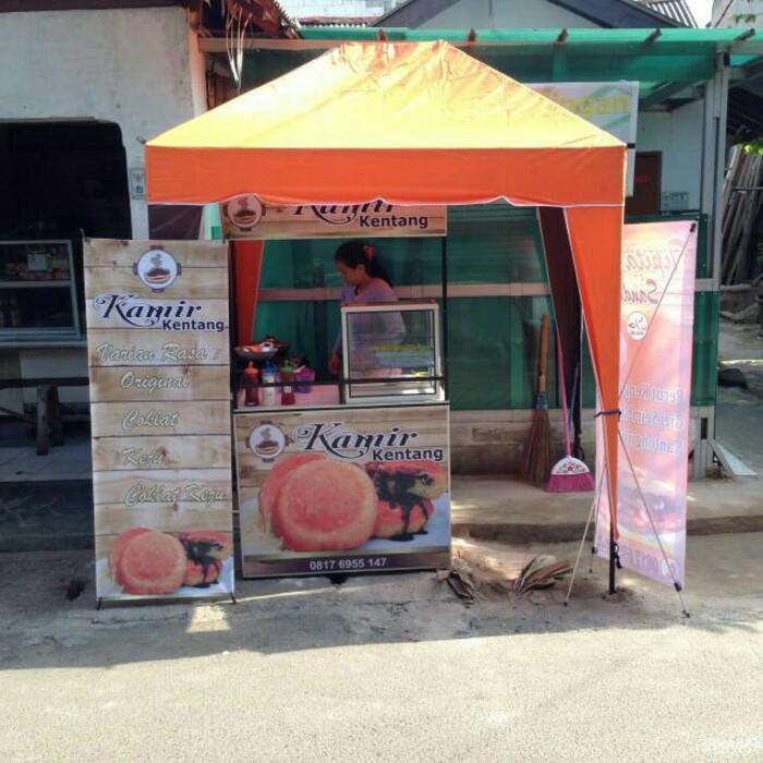 Jual Tenda Cafe 1 5x2 Tenda Jualan Tenda Piramid Kota Bogor Keisha Store Tokopedia